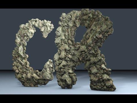 Tuto cinéma 4D_créer un texte rocheux super réaliste sur cinéma 4D - FLASH DESIGN