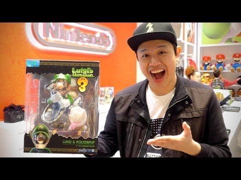 Luigi's Mansion 3 Collector's Edition Figure From Nintendo NY Store