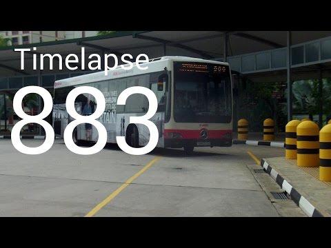 [SMRT]Timelapse of New service 883