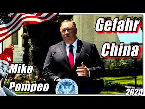Mike Pompeo über die chinesische Gefahr
