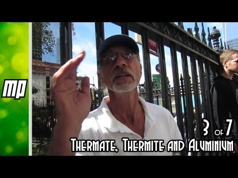 Debunking 9/11 conspiracy theorists part 3 of 7 -Thermate, thermite and glowing aluminium