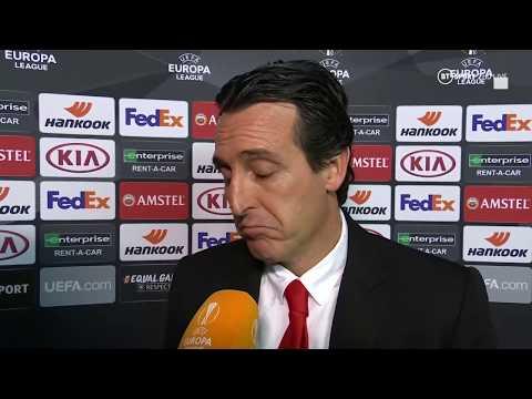 Unai Emery's final interview as Arsenal boss