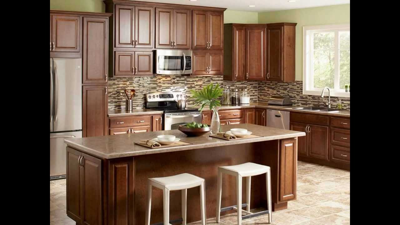 Kitchen design tip using wall cabinets as base cabinets youtube for Kitchen cabinet with island design