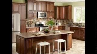 Kitchen Design Tip - Using Wall Cabinets as Base Cabinets