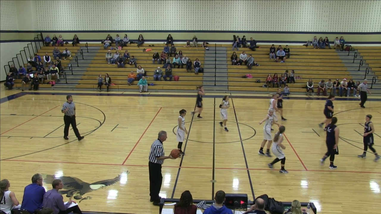 Bald Eagle Area Girls Basketball VS Philipsburg-Osceola - YouTube