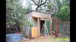 8x10 shed plans materials list