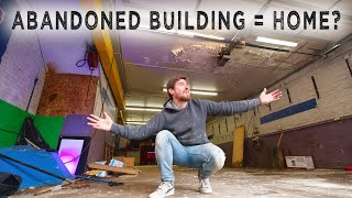 I Bought an ABANDONED BUILDING...my DREAM LIVE/WORK space??