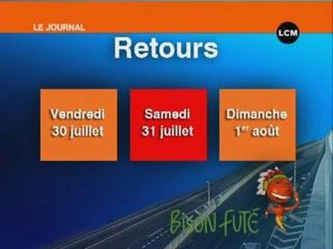 Marseille : l'info trafic du week end