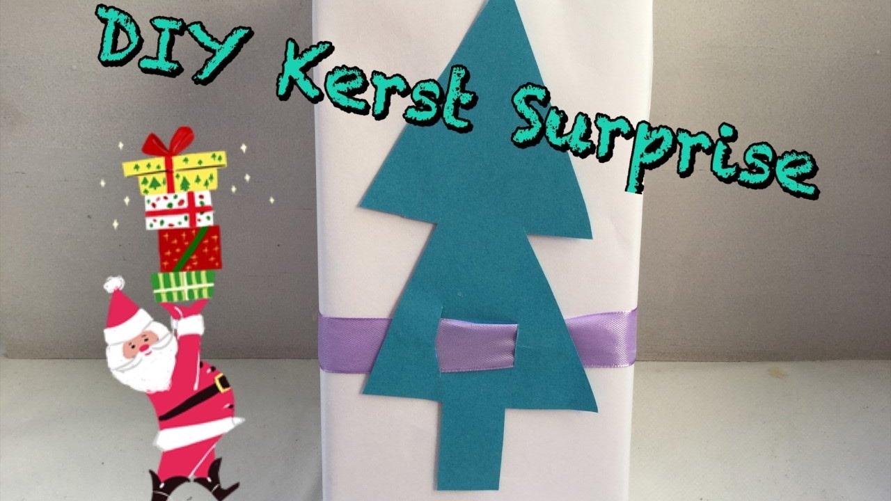 Diy Kerst Surprise Inpak Idee Eenvouding Knutselen Diy Life