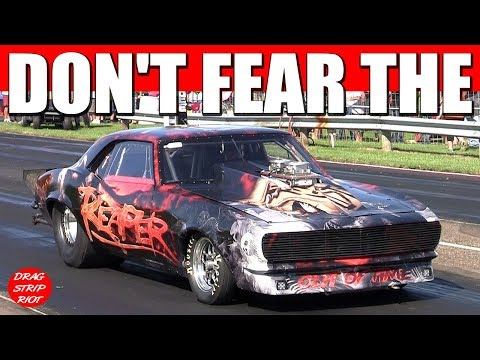 Street Outlaws The Reaper Camaro SS James Goad Drag Racing 1k Grudge Race Show Me The Money 405