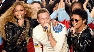 Super Bowl 50 Halftime Highlights - Beyonce & Bruno Mars