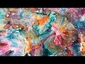 """BLOOM! Large 13"""" X 9"""" Petri Style Resin with Alcohol Inks"""