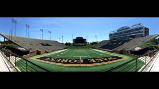 Wake Forest University: Campus Tour & BB&T Field