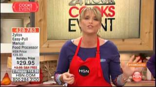 Kelly Diedring Harris presents the Zyliss Easy Pull on HSN; 11/1/15