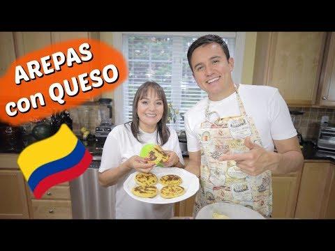 Como hacer Arepas con Queso