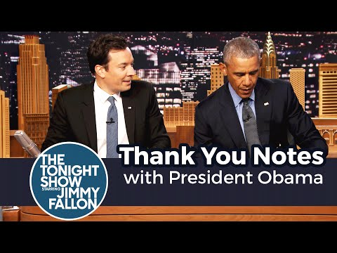 Download Thank You Notes with President Obama Snapshots