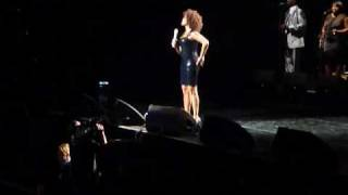 Whitney Houston - I Love The Lord - One of her last Australian shows - 2010