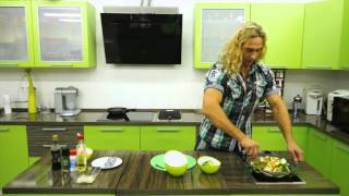 Тарзан у плиты www.MakeYouFit.ru - блюдо в азиатском стиле