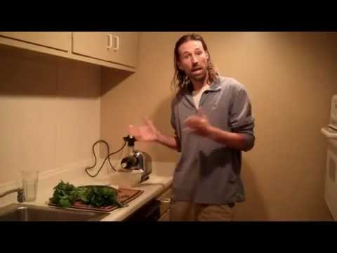 Eliminate congestion and mucus with a green juice recipe