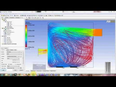 CFX Analysis in water tank using Ansys workbench