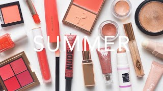 Summer Makeup | Glowing Skin and Pops of Coral and Bronze