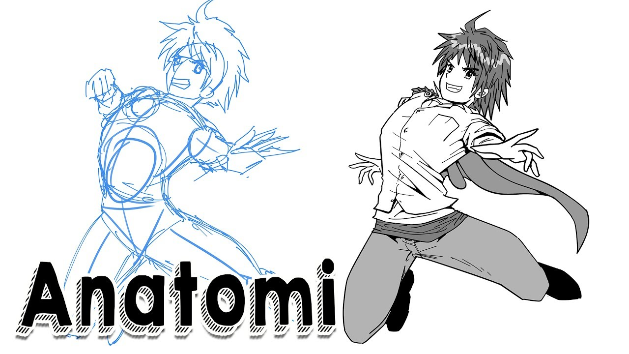 Belajar Gambar ! (3) Sketsa & Pose Anatomi (Plus Gambar