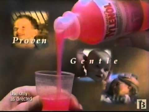 Children's Tylenol Liquid 1997