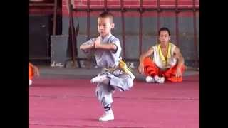 Шоу юных мастеров Ушу в Шаолине