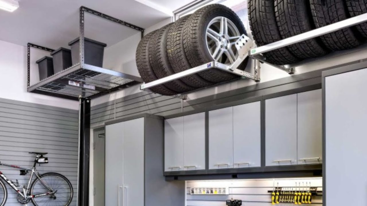 Garage Shelving Design Ideas Small And Tiny Garage Storage Design 12 Ideas