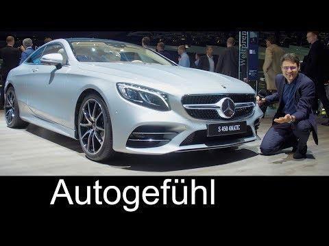 Mercedes S-Class Coupé & Cabriolet Facelift 2018 REVIEW S450 S63 S65 AMG S-Klasse - Autogefühl
