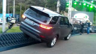Презентация Land Rover Discovery 5
