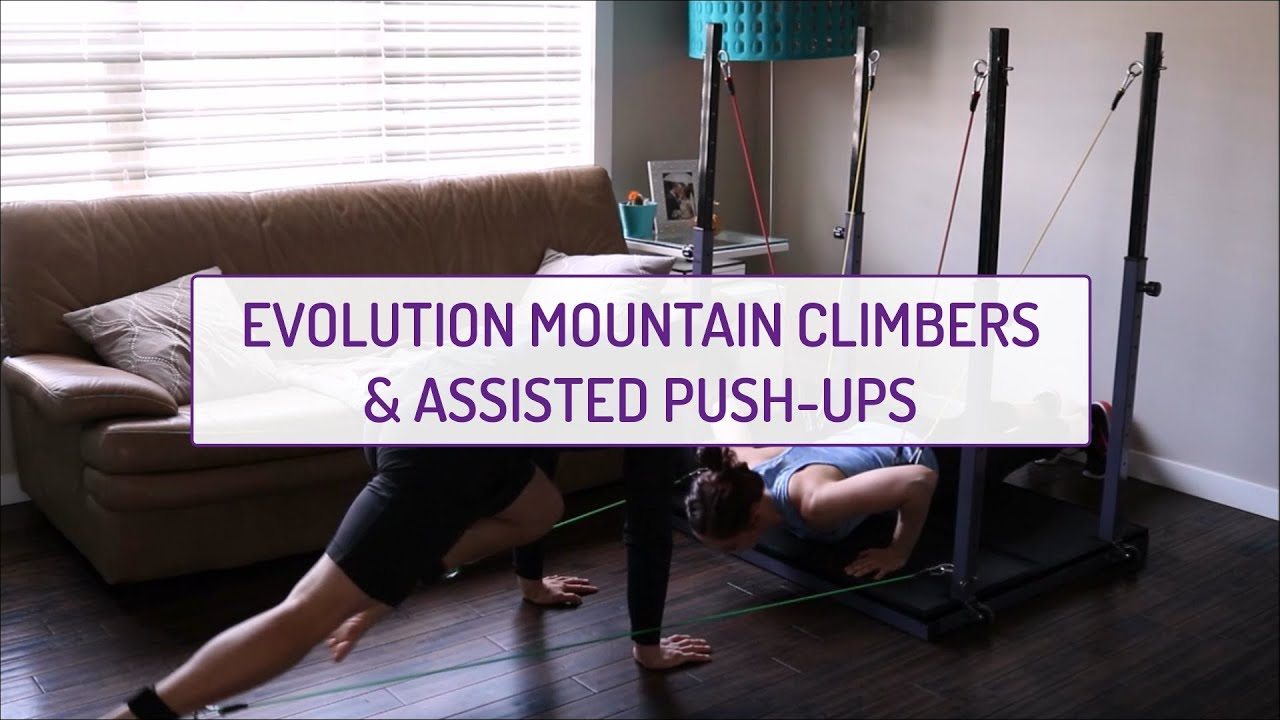 Partner Exercises | Evolution Mountain Climbers and Assisted Push-Ups