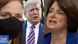 Amy Klobuchar ROASTS Trump on Coronavirus, slams Amy Coney Barrett nomination in Senate speech