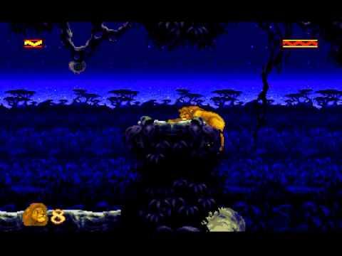 Let's Play The Lion King (Sega Mega Drive)