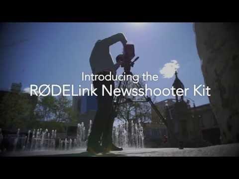 Introducing the RØDELink Newsshooter Kit