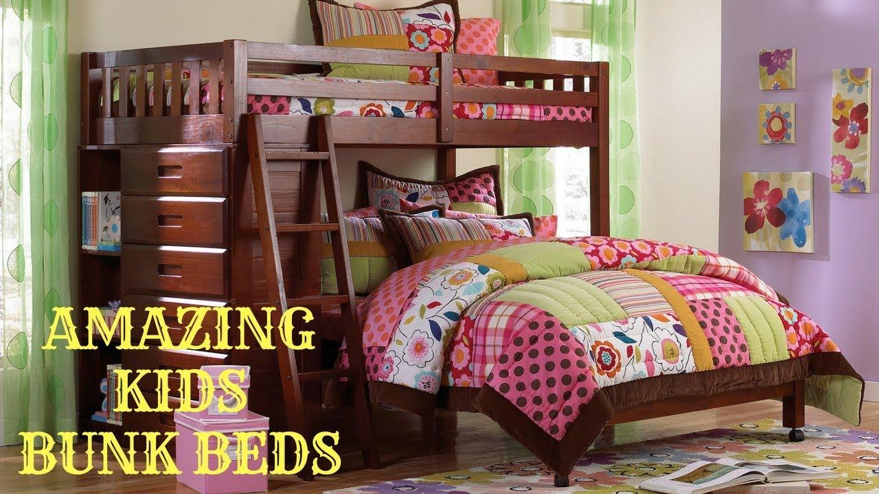 Amazing Kids Bunk Beds Kids Bedroom Furniture Kids Bedroom Decor Bunk Beds Youtube