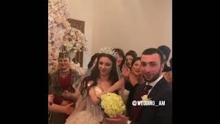 Жених забирает невесту из отцовского дома / Армянская традиционная свадьба 2018