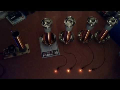 Electro Radiant Energy - Multiple Receiver Setup