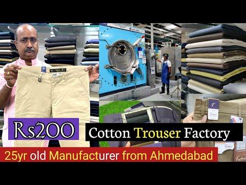Cotton Trouser Factory / Ahmedabad Manufacturer / Cotton pant,jeans,shorts