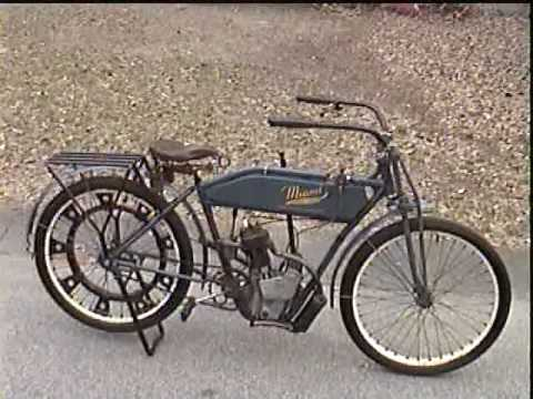 Antique Motorcycle 1916 Miami Power Bicycle AMCA