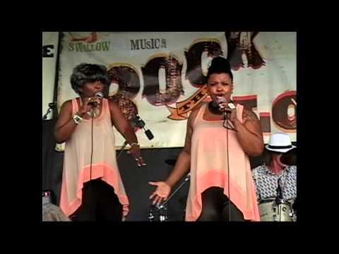 Dan Treanor's Afrosippi Band w-Erica Brown - Pearl St. Blues Fest., Denver 8-10-13! Full Show!