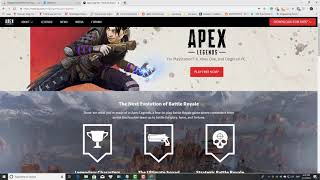 """How to fix error Apex legends : """"Whoops! An error occurred. Please try again later. [ref. #]"""""""