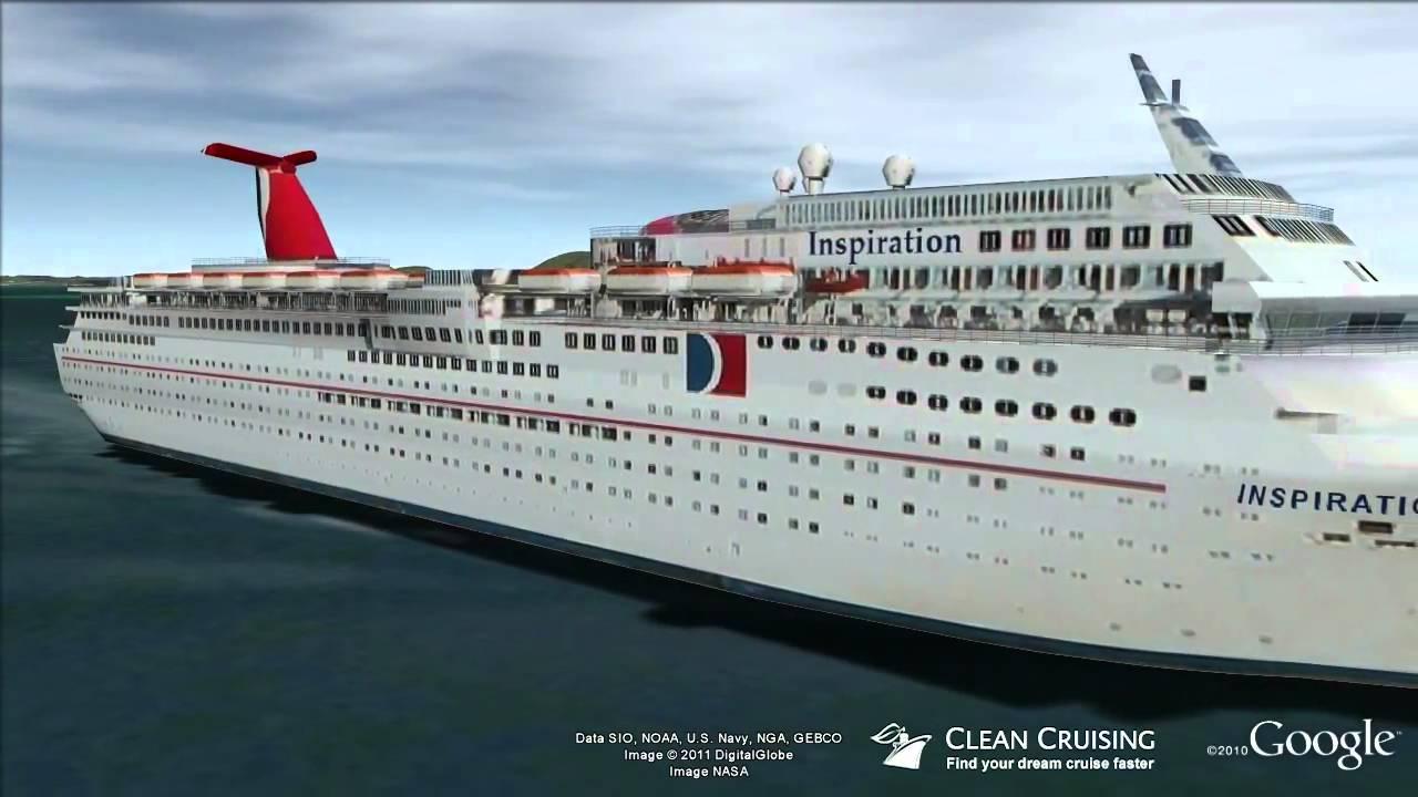 Carnival Inspiration Virtual Ship Tour Youtube