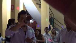 LOS 50 AÑOS DE Ruben bailando su hermano chumpi sabado 7/12/2013