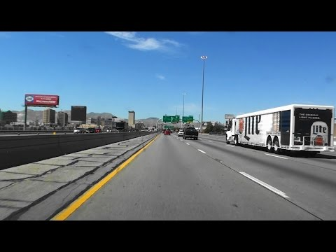 INTERSTATE 10, EL PASO, TEXAS