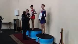 Награждение девушек, Первенство Москвы по старшему возрасту