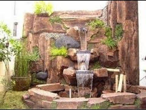 Desain Air Terjun Batu Alam