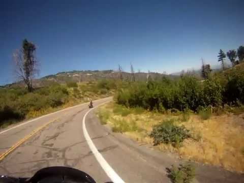 Motorcycle Ride on Palomar Mountain Rd. Cleveland National Forest