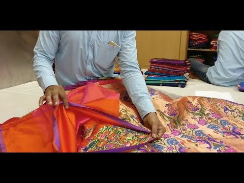 Paithani Saree - Types, Cost And how to Identify Fake And Real Paithani