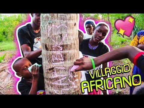 Kenya #6: Entriamo in un VERO VILLAGGIO africano e giochiamo con i BAMBINI!